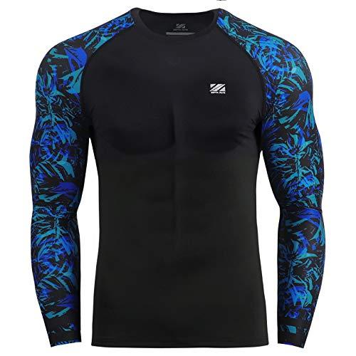 Zipravs MMA Compressie strak shirt Longsleeve hardlopen Baselayer