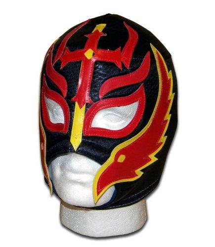 LUCHADORA Mephistopheles Feuer Maske Lucha Libre Mexikanische Wrestling