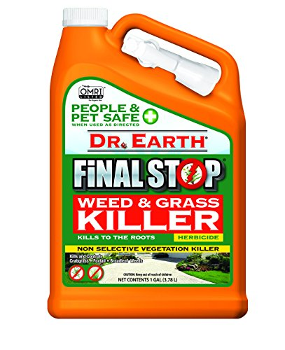 Dr. Earth Final Stop Weed & Grass Killer Herbicide 1 Gallon RTU