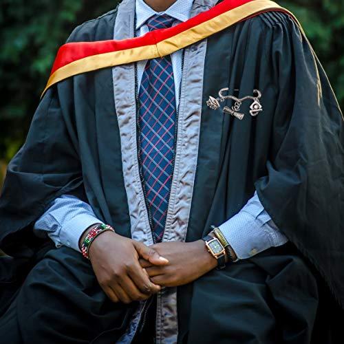 Amosfun 2020 Graduation Alliage Broche Antique Trancheuse Cap Épingle de Revers Badges Broche Bijoux pour 2020 Cadeau de Graduation