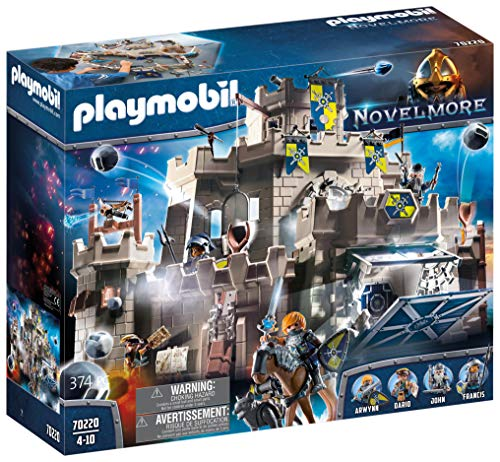 Playmobil - Grand Château des Chevaliers Novelmore - 70220
