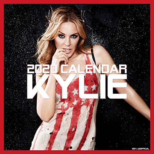 Kylie Minogue 2020 Wandkalender, quadratisch, 30,5 x 30,5 cm, inkl. gratis Poster, das perfekte Weihnachtsgeschenk oder Geschenk für Freunde oder Familie