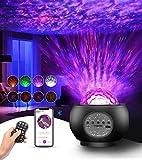 Tesoky proyector estrellas, Galaxy Light Proyector con control remoto y altavoz de música Bluetooth, Proyector Estrellas Techo para el ambiente del dormitorio de los niños Fiesta de cumpleaños en casa