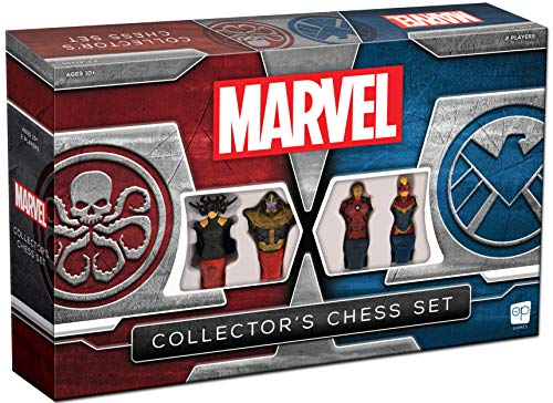 USA-OPOLY - Marvel Collector's Chess Set - Board Game