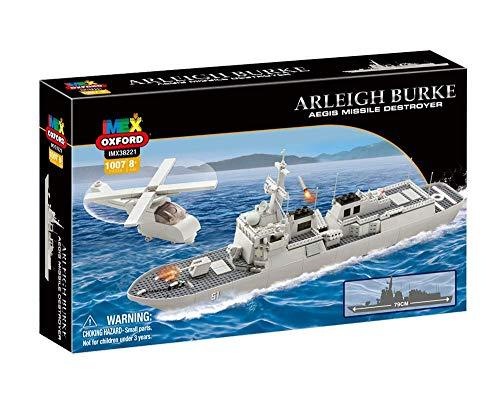 Imex Oxford USS Arleigh Burke Aegis Missile Destroyer 1058 Pieces