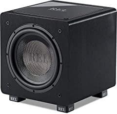 Extremely high output for chest rumbling home theater special effects. Powerful, Pure Home Theater Subwoofer. Perfect for home theater systems that need a little extra oomph. Matches well with any system. Use a single HT/1003 in rooms 100-300 sq. ft....