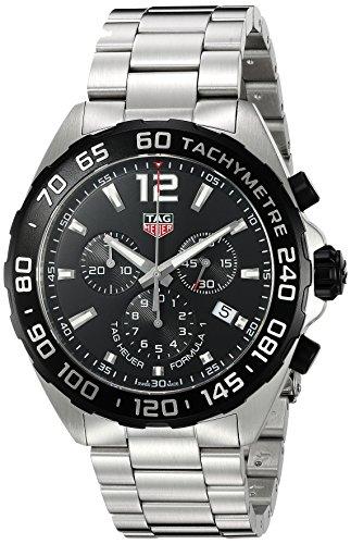 Reloj Tag Heuer Formula 1 de acero, cronógrafo, para hombres, CAZ1010.BA0842
