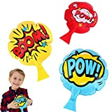 """unbraded [3 Pack] Whoopie Cushion,4""""7""""8""""Whoopee Cushion,Fun Prank Toys,Novelty Trick Joke Toy, Party Toys Favor for Girls,Boys,Kids and Adults"""
