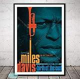 PCWDEDIAN Miles Davis Kunstplakat Jazz Musikstar Art Der