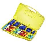 Mr.Power Colorato 25 Note Chromatic Glockenspiel Xilofono in caso di percussione Strumento