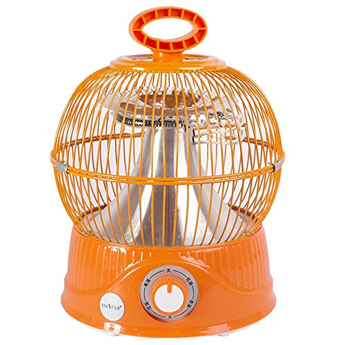 GENGJ Mini calefacción, calefacción de Jaula de pájaros, hogar, Oficina, Calentador eléctrico...