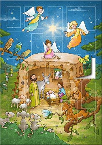 Der magnetische Adventskalender - Ein Stern leuchtet in der Nacht (Weihnachten für Kinder)