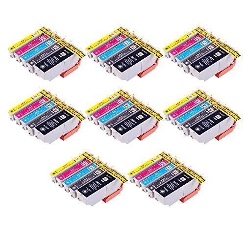 Perfectprint cartuccia di ricambio per Epson Expression Premium XP-60060570080026XL (nero/ciano/magenta/giallo, 40-pack)