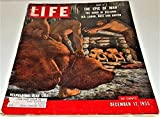 Life Magazine - Vol. 39, No. 24, December 12, 1955 Neanderthal Bear Cult on cover