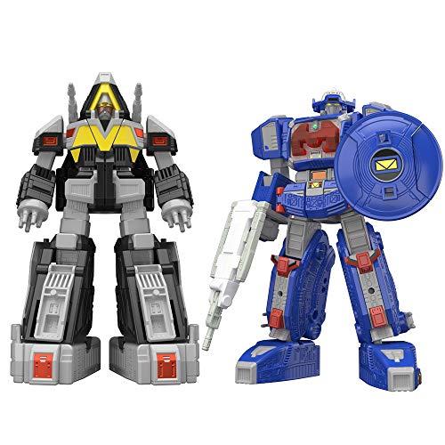 Bandai Tamashii Nations Super Mini PLA Astro Megazord & Delta Megazord Set Power Rangers in Space