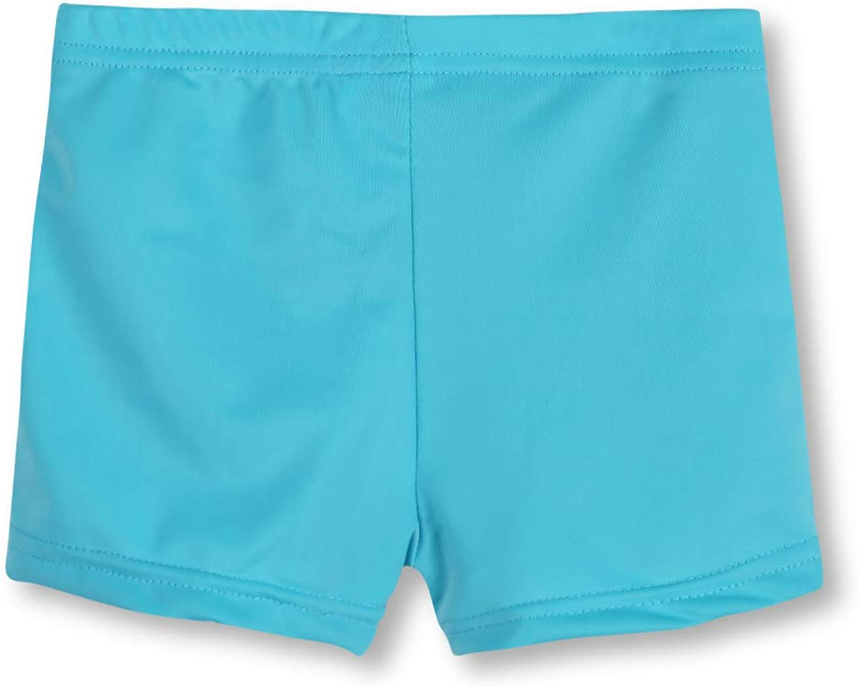 REMEETOU Sun Protection UPF 50 Girl's Swim Rashguard Shorts,Regular/Plus Quick Dry Shorts with Outdoor