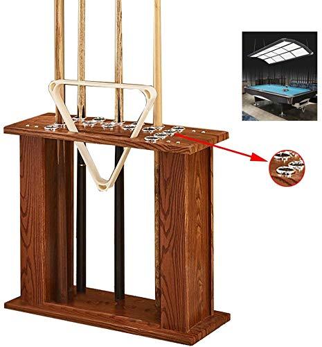 Holz Billardstock Stufe Queue Wand Halter Haltearms - ein Billardstock Rack Snooker-Tisch Zubehör - kann in der cue 16 und ein Stativ aufgestellt werden,C