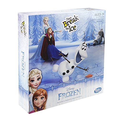 Hasbro Spiel B4643100 - Disney Die Eiskönigin, Der Gefrorene See, Kinderspiel