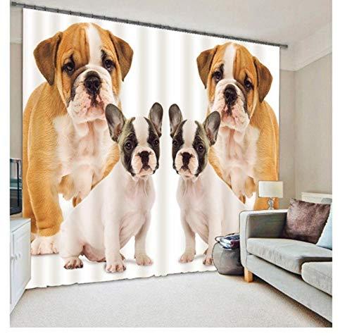 Safiman Vorhang Vorhang Raumtrennung White Lion für Sonnenlicht und UV-SchutzH245 X W280cm
