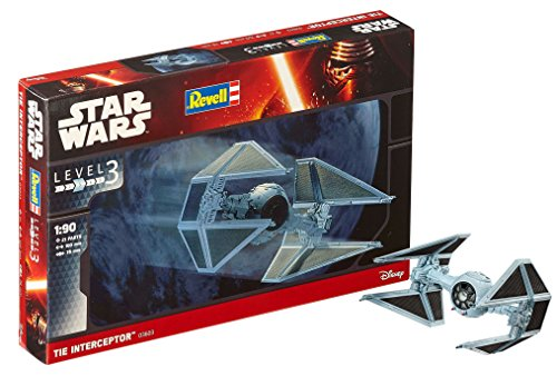 Revell Star Wars Tie Interceptor. Kit modele, Escala 1:90...