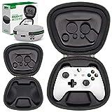 Sisma Funda rigida para Mando Wireless de Xbox One X o One S, Estuche de Viaje para Guardar y Proteger Gamepad Original de Xbox One, Gris