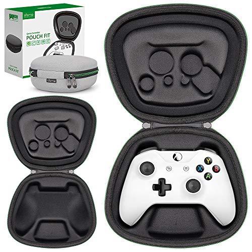 Sisma Custodia da viaggio per Controller Wireless di Xbox One X o One S, Cover rigida per riporre e proteggere Gamepad di originale Xbox, Grigio