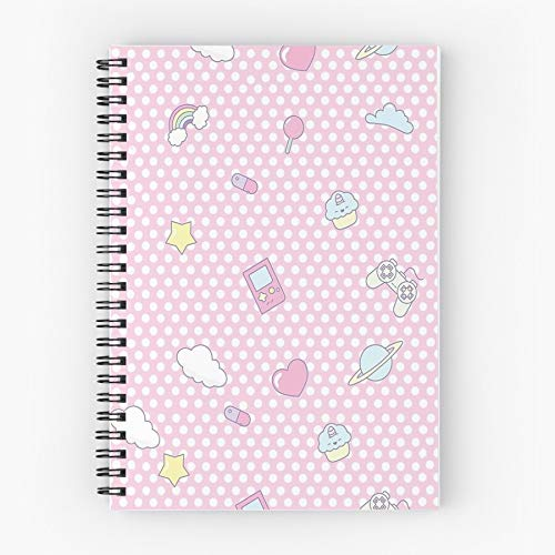 Woman Girl Child Dad Key Kei Daddy Fairy Guse Cute School Five Star Spiral Notebook With Durable Print