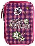 Target Targer Magic Garden Mädchen Schüleretui Mochila Infantil, 20 cm, Rosa (Rosa/Violett/Weiß)