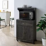 Home Source Industries Kevin Microwave Cart