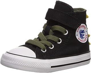 0d501c7483c0b2 Converse Chuck Taylor all Star 1V Dino Spikes Canvas Hi Sneakers Bambino  Verde/Giallo Sneakers