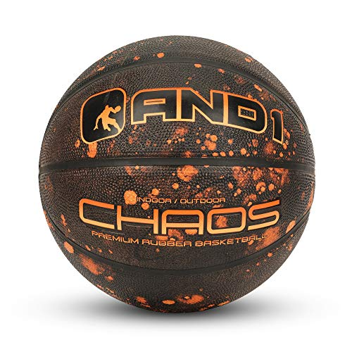 "Fantastic Deal! AND1 Chaos Rubber Basketball: Game Ready, Official Regulation Size 7 (29.5"") Stree..."