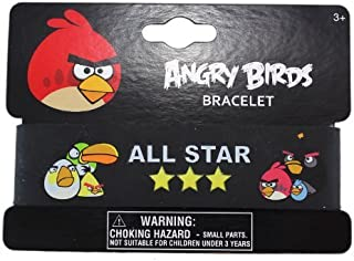 Angry Birds All Star Rubber Bracelet - Angry Birds Rubber Wristbands by Rovio