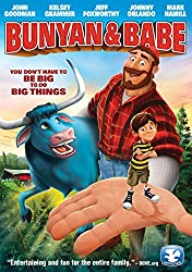 Image: Bunyan and Babe: about two children exiled on their grandfather's farm in Minnesota who discover a lair where Paul Bunyan and Babe the Blue Ox (Jeff Foxworthy) have resided since their disappearance from the Dead Forest | John Goodman (Actor), Kelsey Grammer (Actor), Louis Ross (Director) | Rated: PG | Format: DVD