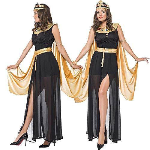 COOGG Halloween Cosplay Arabische Kostuums Nationale Kostuum Egyptische Farao Yanyan Na Kostuum Oude Romeinse Prinses Kostuum