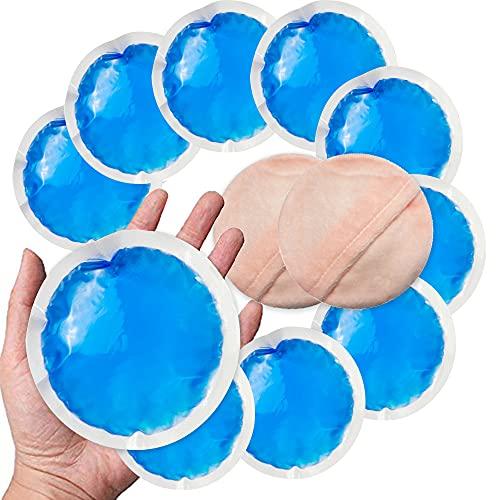 Sac Gel de Gel de Glace Utiliser pour les compresses froides chaudes - parfait pour blessures des enfants, dents de sagesse, maux de tête, refroidissement de la fièvre, l'allaitement