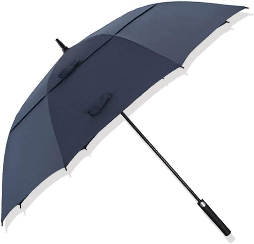 51 Inch Golf Umbrella Windproof Opening large release sale Vented Larg Canopy Extra High material Double