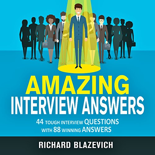 Amazing Interview Answers audiobook cover art