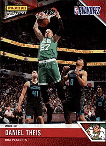 2018-19 Panini Instant NBA Playoffs #155 Daniel Theis Boston Celtics Print Run 61 Official Basketball Card ONLINE Exclusive