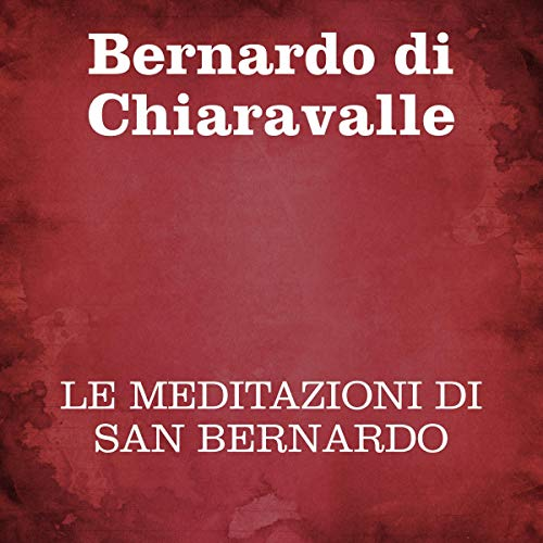 Le meditazioni di San Bernardo copertina