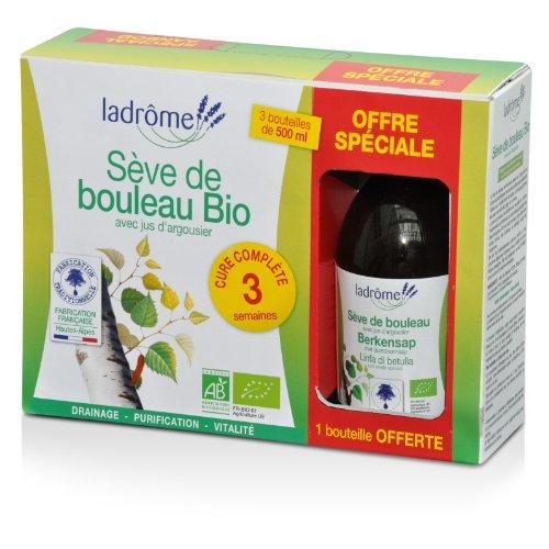 La drome provencale - Coffret 3 flacons sève de bouleau 2 + 1 offert