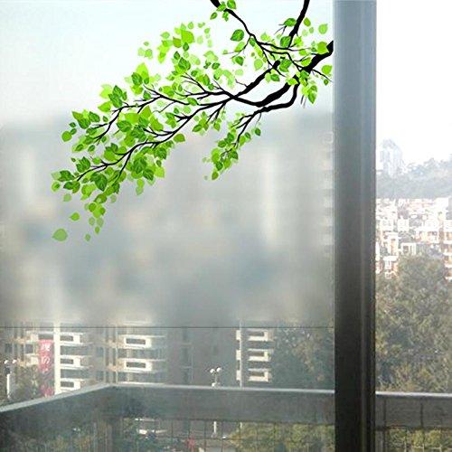 Pegatina autoadhesivo modelo rama con hojas para ventanas hogar ...