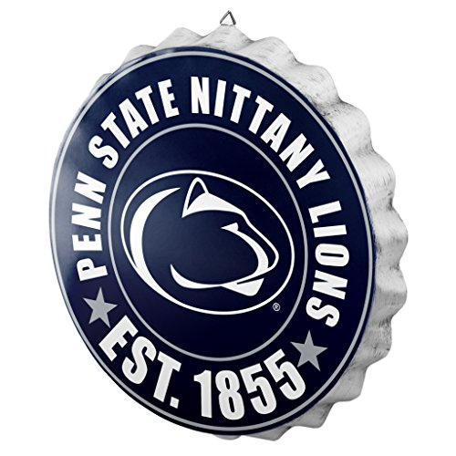 FOCO NCAA Bottle Cap Wall Sign, Penn State Nittany Lions