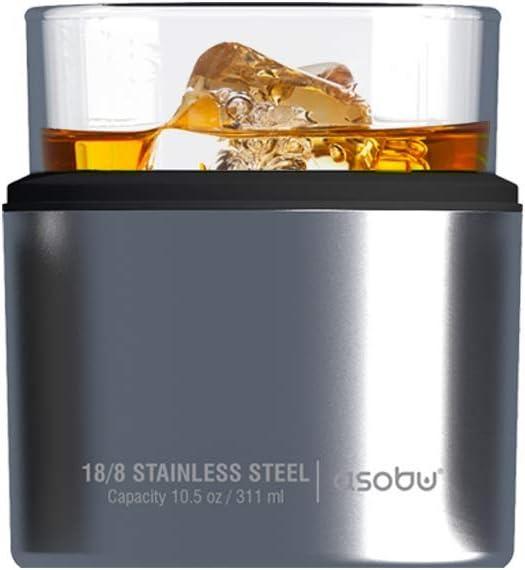 Asobu Insulated Whiskey Glass and Sleeve