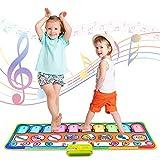 Musikinstrumente für Kinder Spielzeug Mädchen ab 3 Jahr Keyboard Kinder Geschenk Mädchen 4 Jahre Musikmatte Kinder ab 5 Jahr Klaviermatte für Kinder 6 7 JahrJunge Tanzmatte Kinder Musikspielzeug