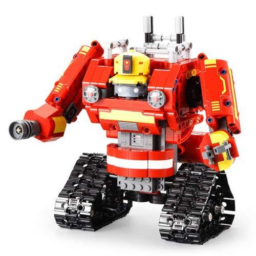 WZRYBHSD Control Remoto Coche Robot Deformado Rompecabezas Infantiles Montaje De Montaje Bloques De Construcción Juguetes Vehículos Autobot Deformada Modelo Modelo Transformador Coche Niños Niños Negr