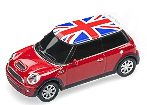 AutoDrive, USB 2 Flash Drive, Mini Cooper, 32 GB, rot