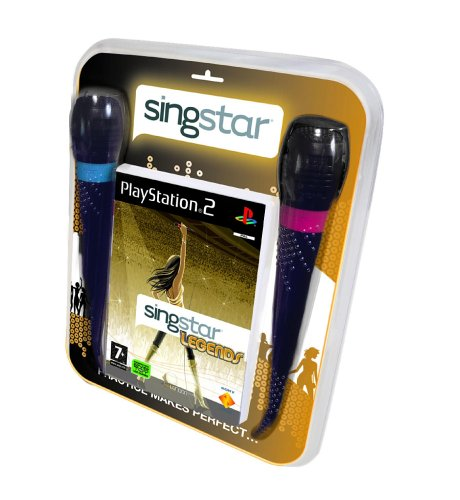 Pack Singstar : Legends + Micros