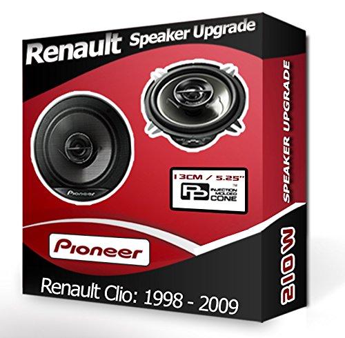 Pioneer Kit haut-parleurs de porte arrière pour Peugeot 307 13 cm 210 W