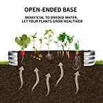 """Gadi raised garden bed kit for vegetables flower galvanized metal planter boxs designed for easy diy and cleaning not… 11 more suitable raised garden bed size and volume:67""""l x 20""""w x10""""h, 7 cu. Ft. You can cultivate plants, like vegetables, flowers, herbs in your patio, yard, garden, and greenhouse. Built to last: the raised garden bed body made of steel plates galvanized layer and 2 layers of anti-corrosion paint, strong anti-rust performance to keep your garden bed looking its best for years to come. Open-bottom garden bed: built with an open base to prevent water buildup and rot, while allowing roots easy access to nutrients. Side ventilation:side ventilation can enhance the respiration of plant roots and facilitate the removal of excess water. Keep your plants healthy!"""