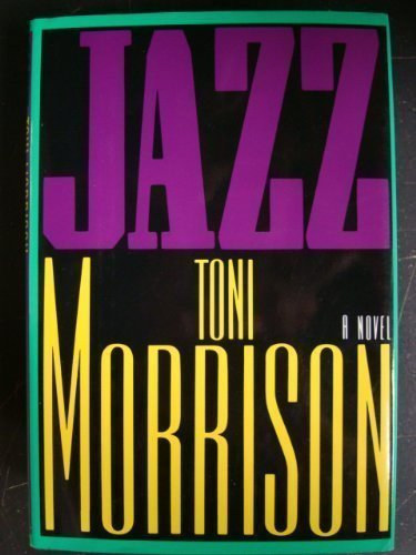 Jazz by Morrison, Toni (1992) Hardcover